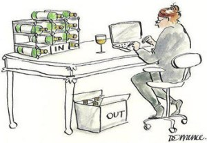 wine writing is serious business
