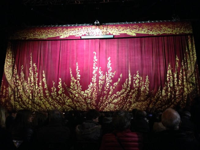 The curtain is about to go up on the Russian Traviata.