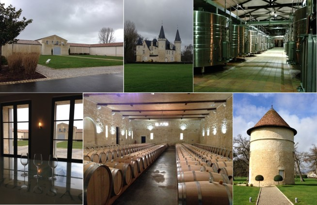 A variety of bâtiments, old and new, dot the property at Château d'Agassac. The main office building, the original 12th century château (now a lovely restaurant), modern tanks, the tasting room overlooking the courtyard, the barrel room, and the original dovecote (and sometime tasting room slash Rapunzel's tower)