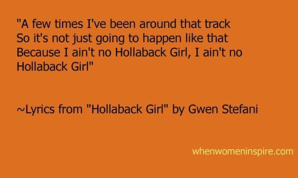 Lyrics for song by Gwen Stefani