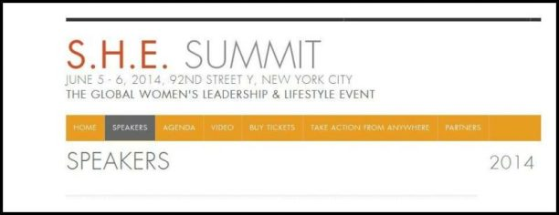 Sommet S.H.E. 2014