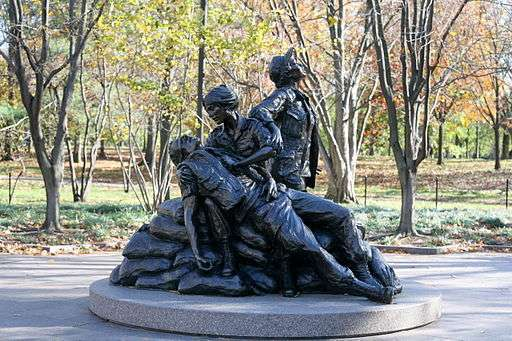 Vietnam women's memorial in Washington