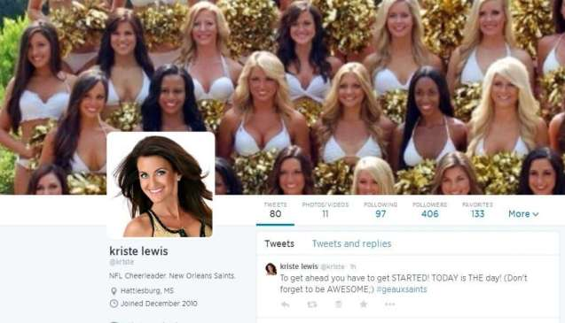 The 40-Year-Old Cheerleader's Twitter Profile