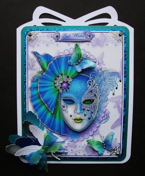 Stunning 3D Card from Jennifer Smith-Kirk