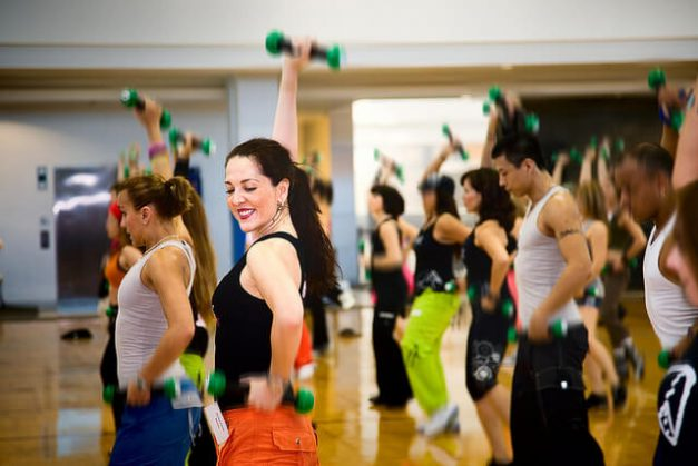 Get in shape with zumba