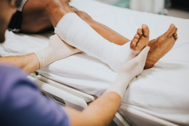 A broken leg can financially impact your family if you can't work anymore