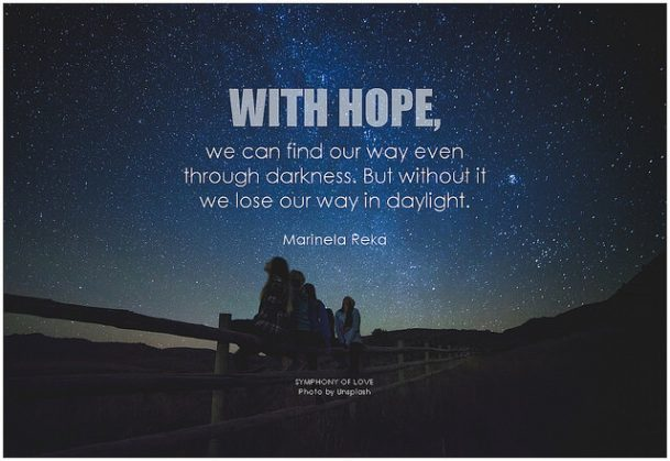 How to find hope quote