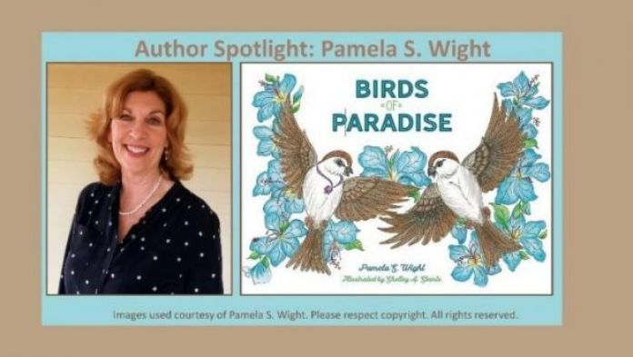 """Pamela's """"Birds of Paradise"""" book for kids"""