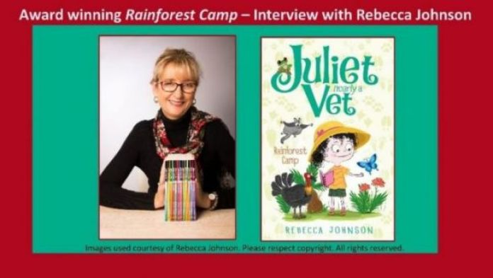Science teacher, mother, and writer Rebecca Johnson