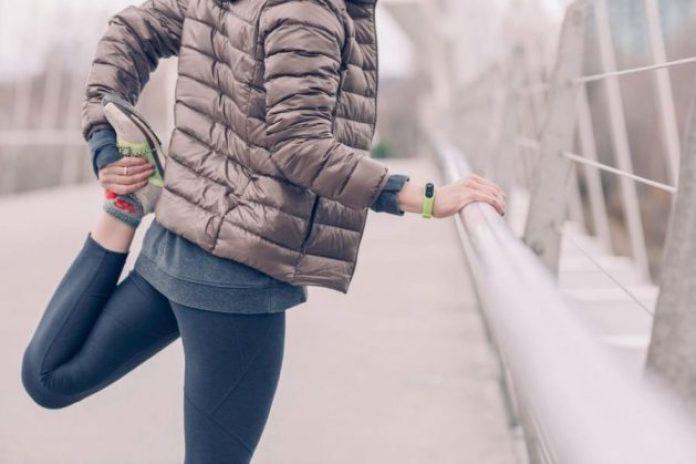 Keep the body active as the colder weather begins