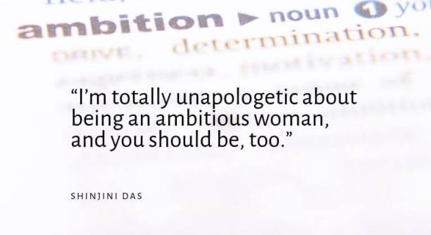Are you an ambitious woman looking to improve herself?