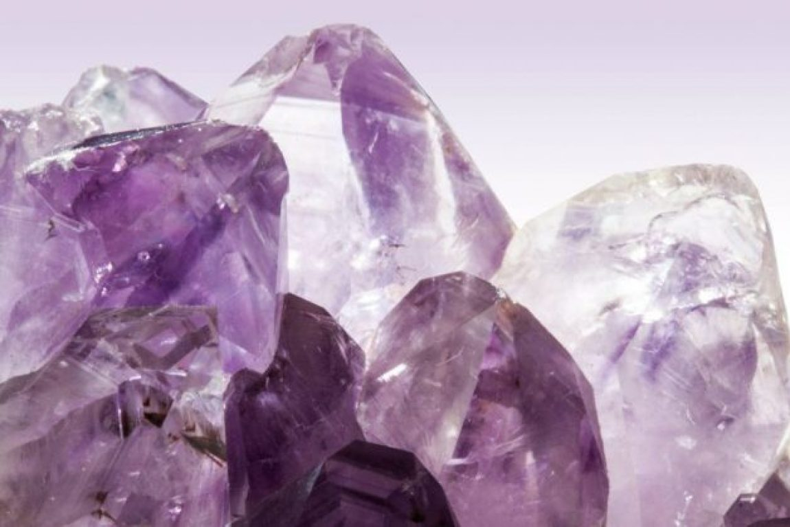 Embrace the amethyst and other calming crystals and gems