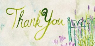 Thank you sign. I appreciate you all!