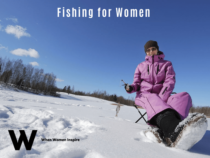 ice fishing for women