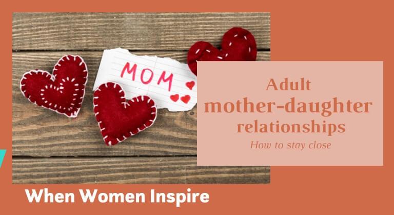 Relations entre la mère et l'adulte