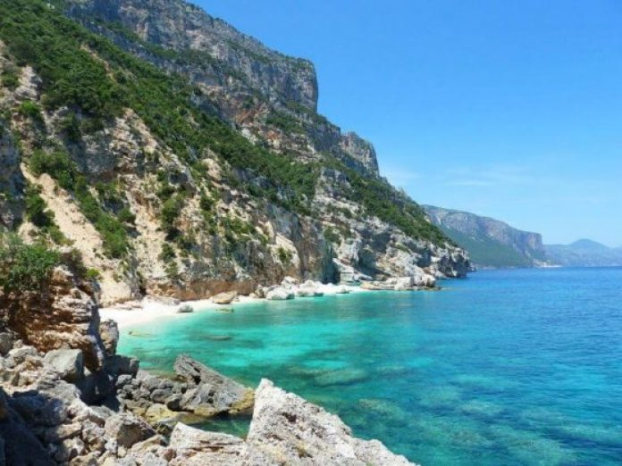 Cala Mariolu is among top beaches in Europe