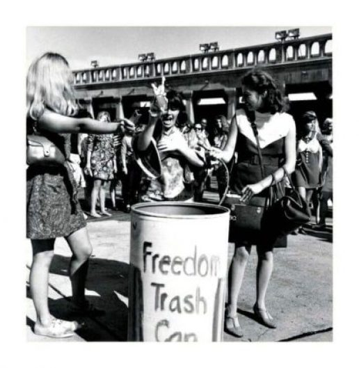 The Freedom Trash Can, 1968 Miss America, and A Bunny's Tale