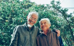 Healthy aging couple uses Basis supplement