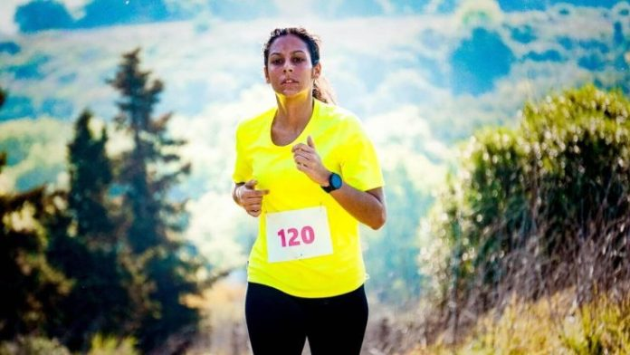 Use running to help find your passion like this female