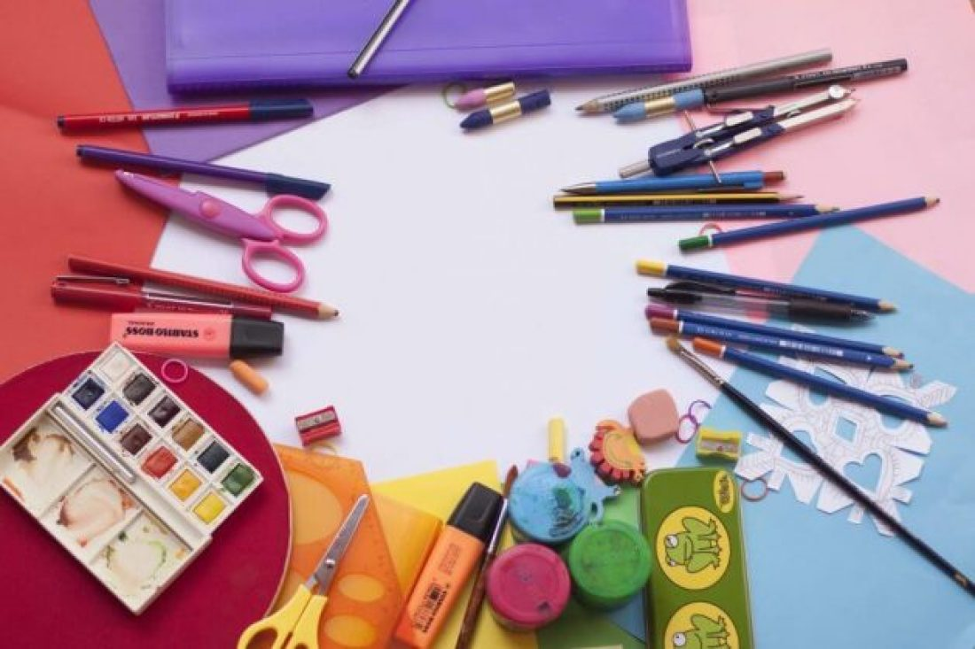 Fun arts and crafts keep kids entertained at weddings