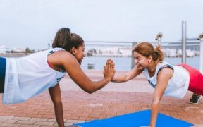 Reach health goals with gal friends' support