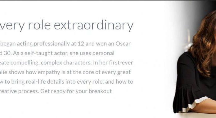 Online acting class with Natalie Portman