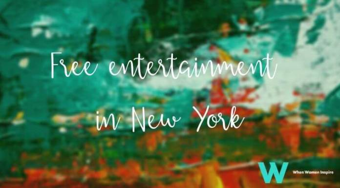 Free entertainment in New York