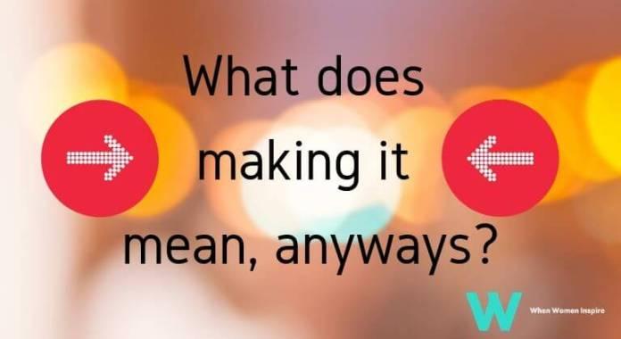 Making it defined