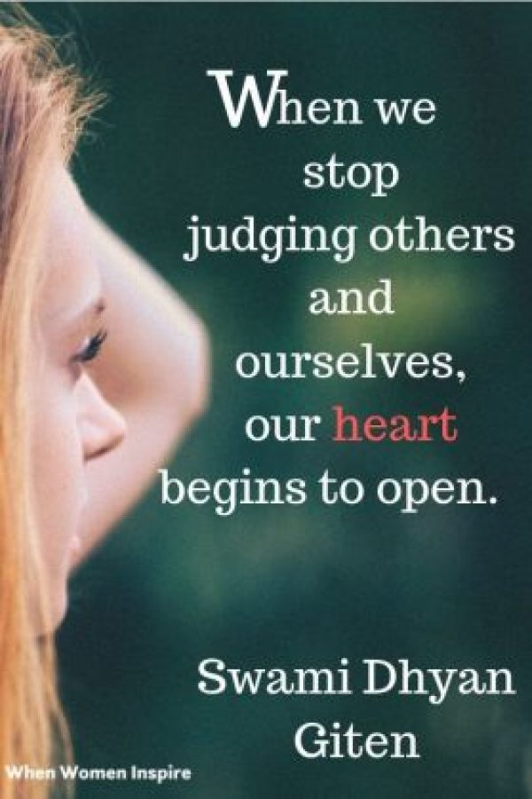 judging others quote