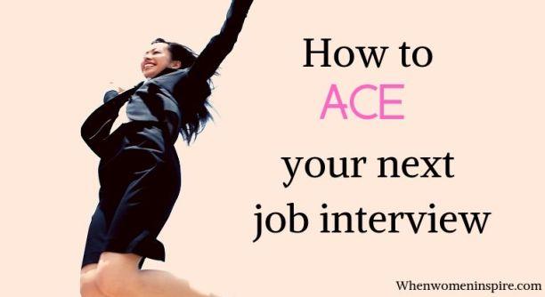 nail the job interview