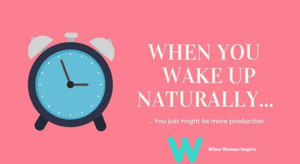 naturally wake yourself up