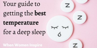perfect temperature for sleep