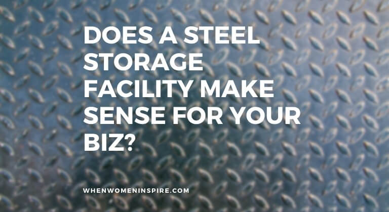 Steel storage facilities