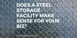 Steel storage facilities