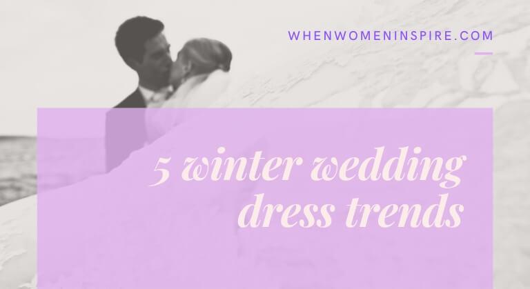 Style mariée; robe de mariée d'hiver