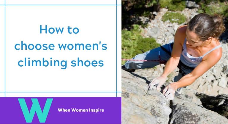 Women's climbing shoes