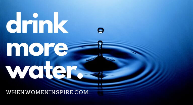 Drink water for better health