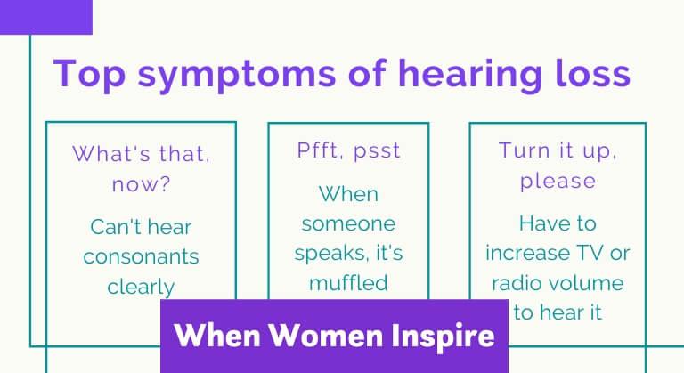 Ear symptoms
