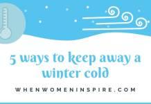 Comment prévenir un rhume cet hiver