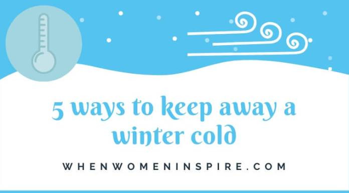 How to prevent a cold this winter