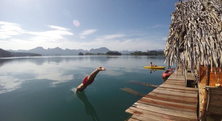 Khao Sok beach destinations in Thailand