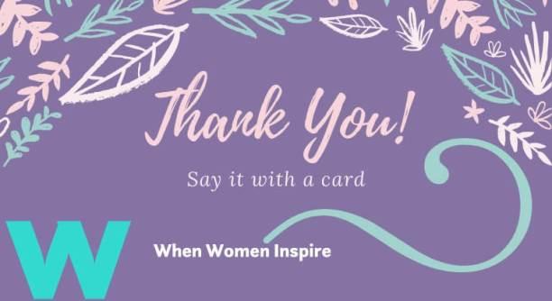 可打印的感谢卡
