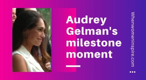 Audrey Gelman directrice générale enceinte