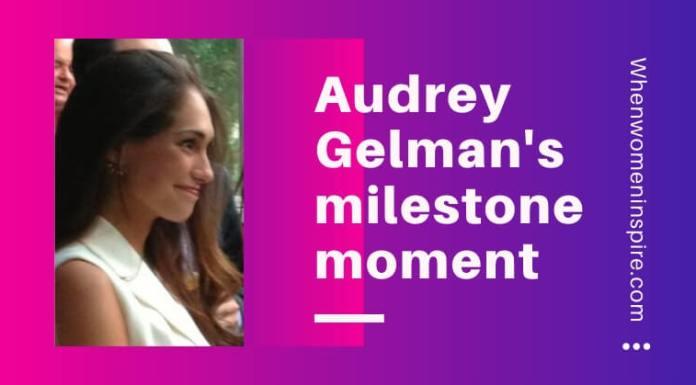 Audrey Gelman pregnant CEO