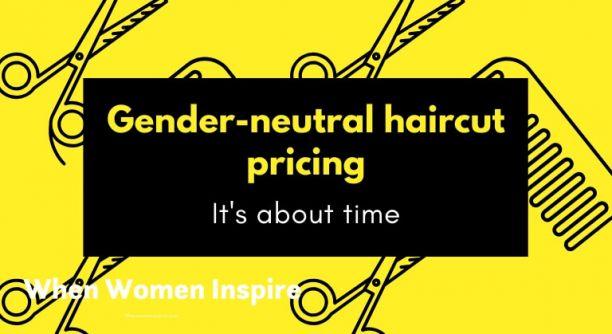 性别中立的理发定价