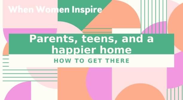 在更快乐的家里抚养青少年