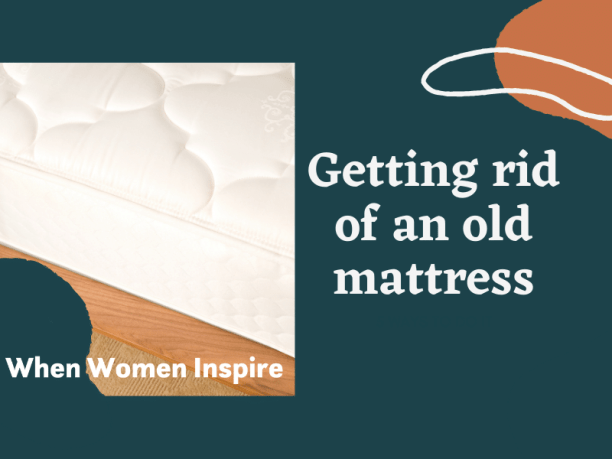 Get rid of old mattress tips