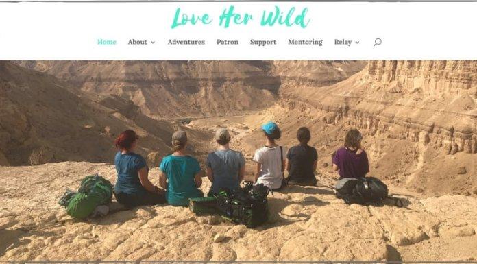 Women hike Love Her Wild