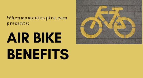 exercice de vélo d'air