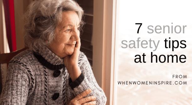 像这个女人这样的老年人的家居安全